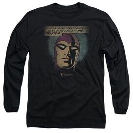 Phantom Evildoers Beware Long Sleeve Adult T-Shirt