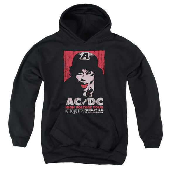 Acdc High Voltage Live 1975 Youth Pull Over Hoodie