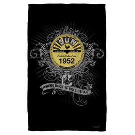 Sun Rockin Scrolls Towel