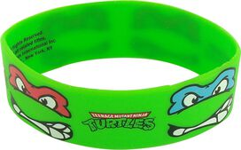 Ninja Turtles Four Face Rubber Wristband