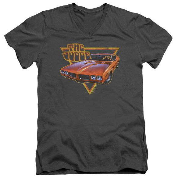 Pontiac Judged Short Sleeve Adult V Neck T-Shirt