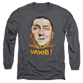 Three Stooges Woob Woob Woob Long Sleeve Adult T-Shirt