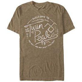Twin Peaks Welcome Heather T-Shirt