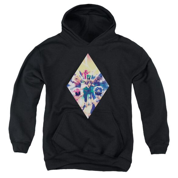 Power Rangers Sdcc Ranger Diamond 1 Youth Pull Over Hoodie