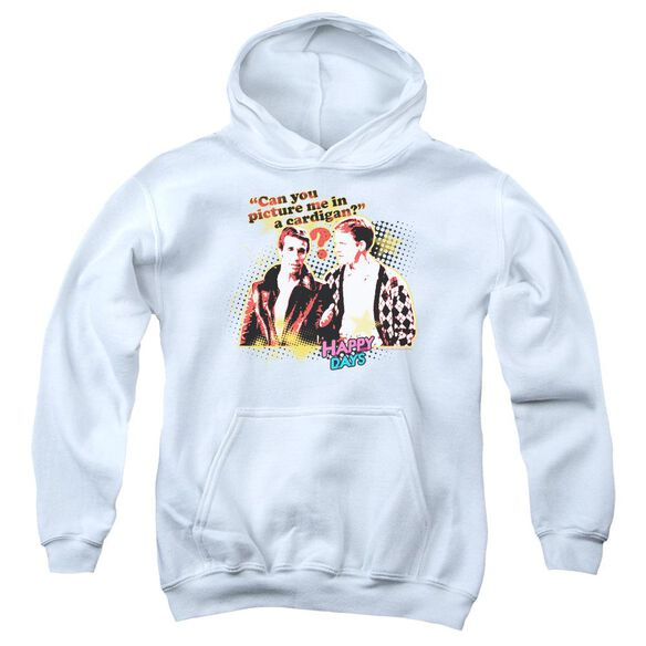 Happy Days No Cardigans Youth Pull Over Hoodie