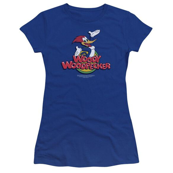 Woody Woodpecker Woody Premium Bella Junior Sheer Jersey Royal