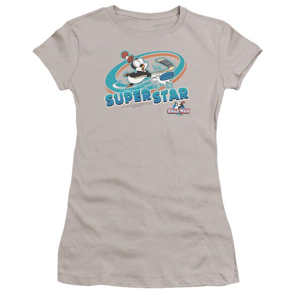 Chilly Willy Slap Shot Premium Bella Junior Sheer Jersey