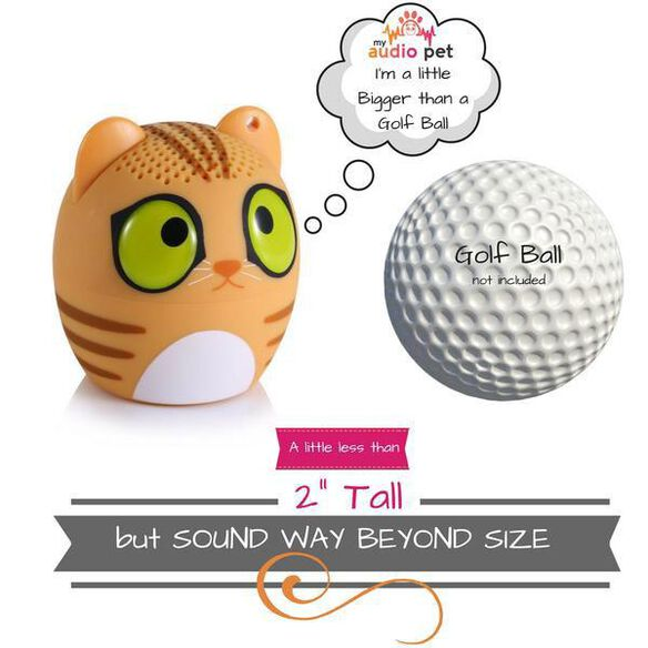 My Audio Pet Mini Bluetooth Wireless Speaker - Classical Cat