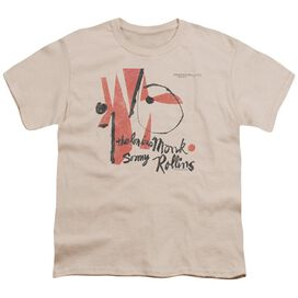 THELONIOUS MONK MONK SONNY ROLLINS - S/S YOUTH 18/1 - CREAM - T-Shirt