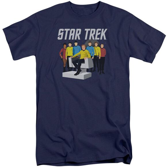 Star Trek Vector Crew Short Sleeve Adult Tall T-Shirt