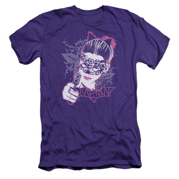 Dark Knight Rises Masked Kitty Short Sleeve Adult T-Shirt