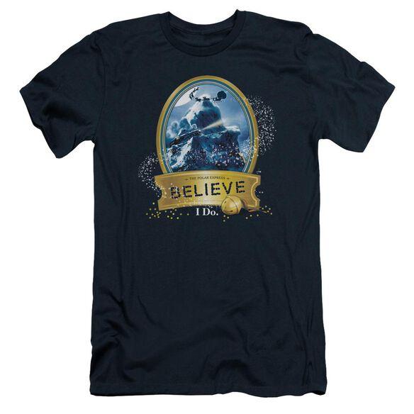 Polar Express True Believer Short Sleeve Adult T-Shirt
