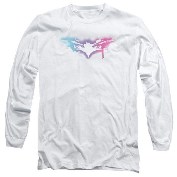 Dark Knight Rises Spray Cat Long Sleeve Adult T-Shirt
