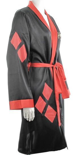 Harley Quinn Small Bombshell Satin Junior Robe