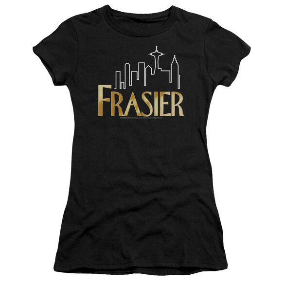 Frasier Frasier Logo Short Sleeve Junior Sheer T-Shirt