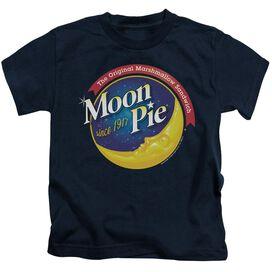 Moon Pie Current Logo Short Sleeve Juvenile T-Shirt