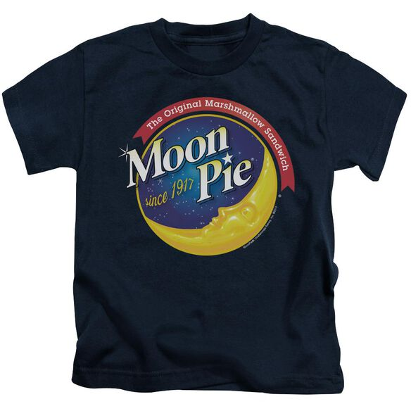 Moon Pie Current Logo Short Sleeve Juvenile T-Shirt