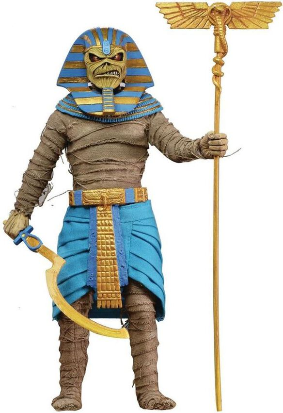 Iron Maiden Pharaoh Eddie Clothed Action Figure