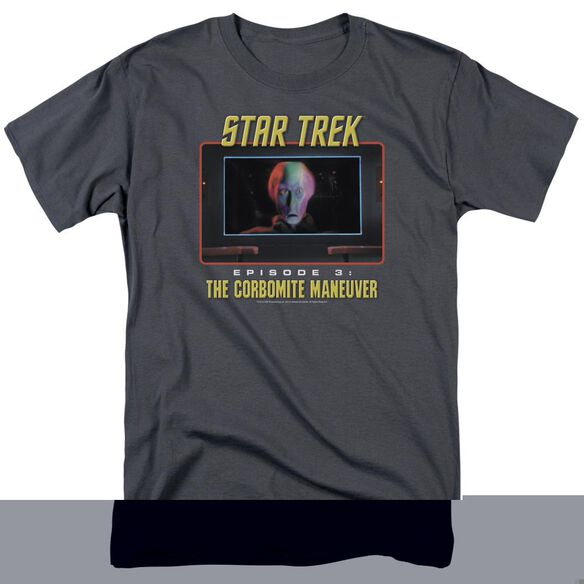 ST ORIGINAL THE CORBOMITE MANEUVER - S/S ADULT 18/1 - CHARCOAL T-Shirt