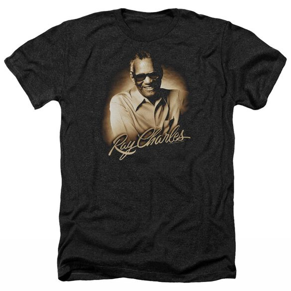 Ray Charles Sepia Adult Heather