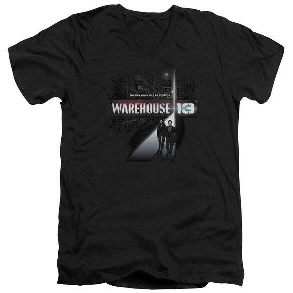 Warehouse 13 The Unknown Short Sleeve Adult V Neck T-Shirt