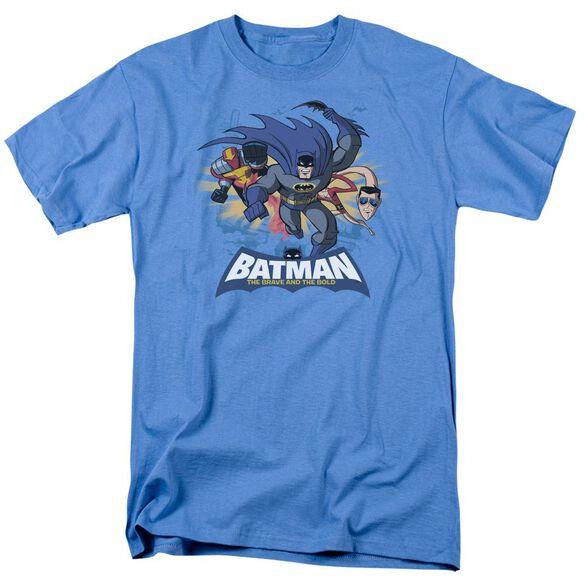 Batman Bb Charging Trio Short Sleeve Adult Carolina T-Shirt