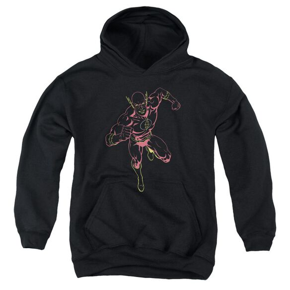 Jla Neon Flash Youth Pull Over Hoodie