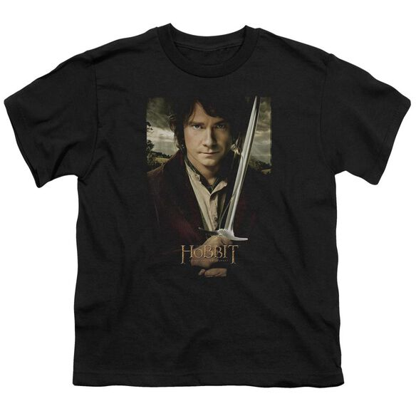 The Hobbit Baggins Poster Short Sleeve Youth T-Shirt