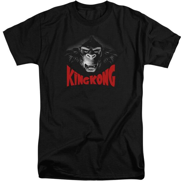 King Kong Kong Face Short Sleeve Adult Tall T-Shirt