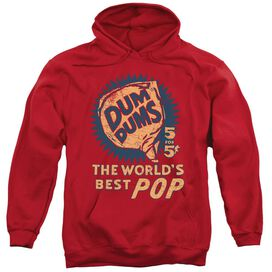 Dum Dums 5 For 5 Adult Pull Over Hoodie