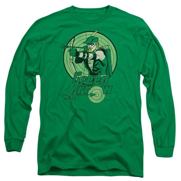 Dc Arrow Long Sleeve Adult Kelly T-Shirt