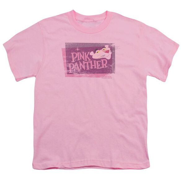 Panther Distressed Short Sleeve Youth T-Shirt