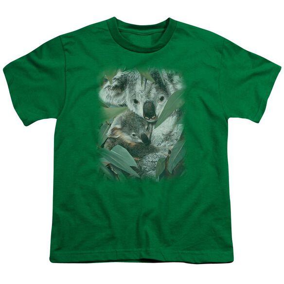 Wildlife Motherhood Short Sleeve Youth Kelly T-Shirt