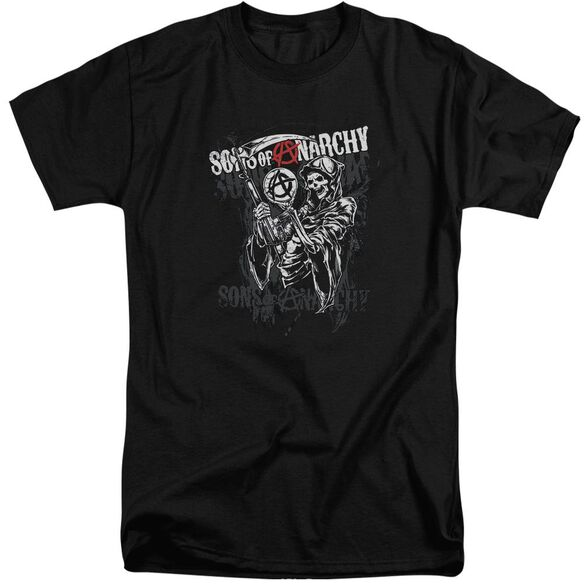 Sons Of Anarchy Reaper Logo Short Sleeve Adult Tall T-Shirt