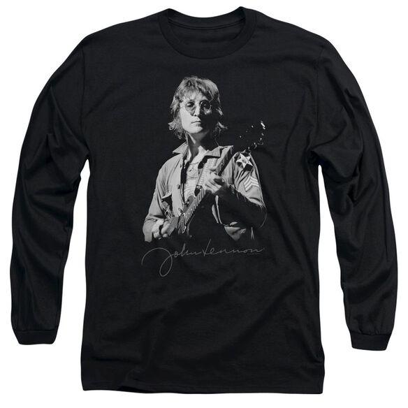 John Lennon Iconic Long Sleeve Adult T-Shirt