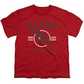 Jla Track And Field Short Sleeve Youth T-Shirt