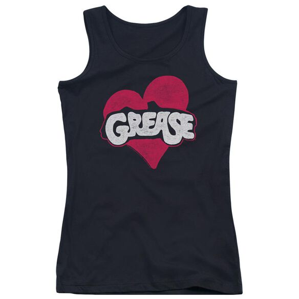 Grease Heart Juniors Tank Top