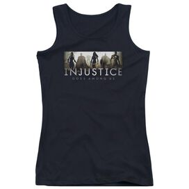 Injustice Gods Among Us Logo Juniors Tank Top