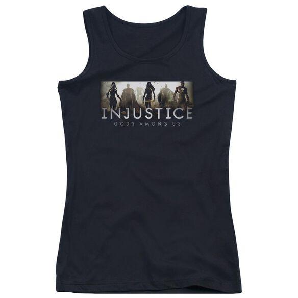 Injustice Gods Among Us Logo Juniors Tank Top