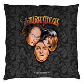 Moe Howard, Jerome Howard And Larry Fine Stooges All Over Throw