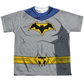 Batman Unlimited Batman Uniform Short Sleeve Youth Poly Crew T-Shirt