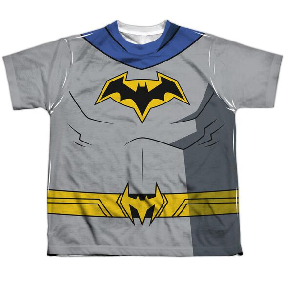 Batman Unlimited Batman Uniform Short Sleeve Youth Poly Crew T-Shirt