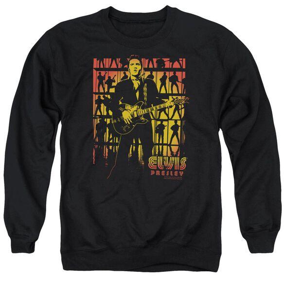 Elvis Comeback Spotlight Adult Crewneck Sweatshirt