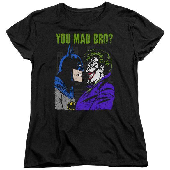 Dc Mad Bro Short Sleeve Womens Tee T-Shirt