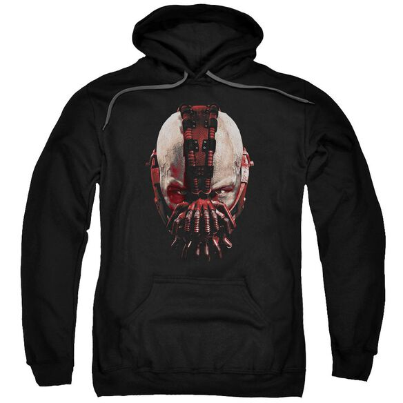Dark Knight Rises Bane Mask Adult Pull Over Hoodie