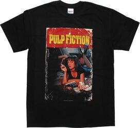 Pulp Fiction Mia Poster T-Shirt