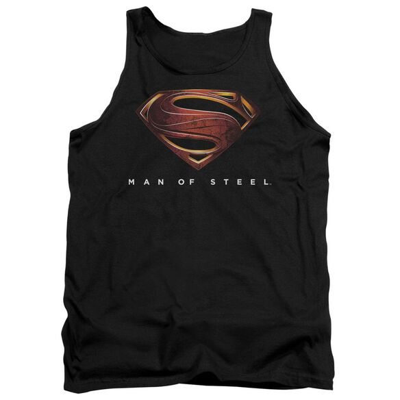 Man Of Steel Mos New Logo Adult Tank