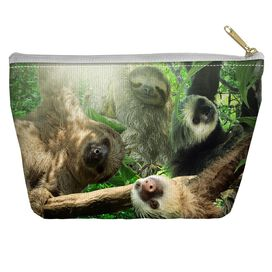 Sloth Club Accessory Pouch