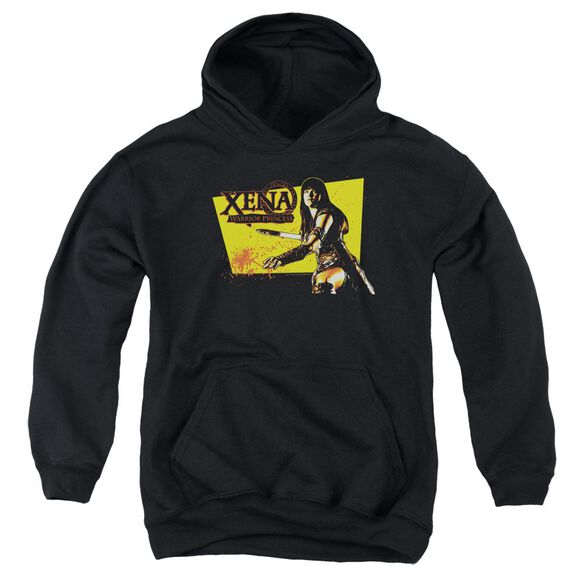 Xena Cut Up Youth Pull Over Hoodie