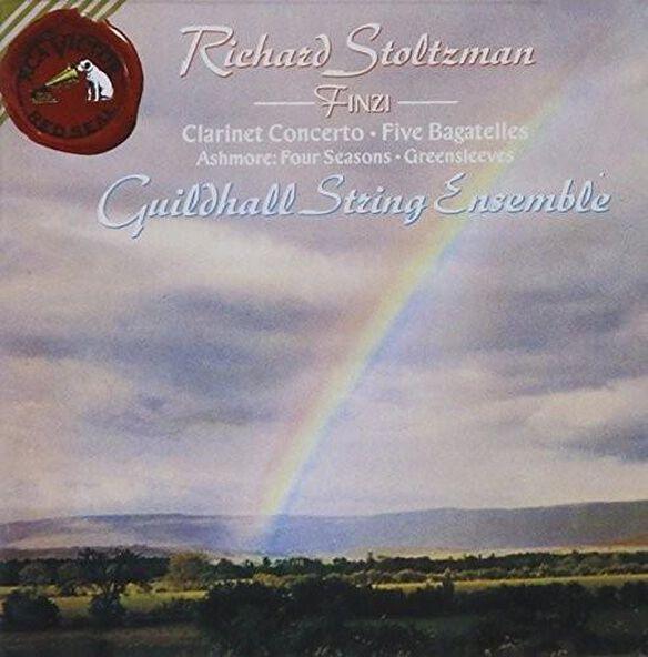 Finzi/ Salter/ Guildhall String Ens/ Stoltzman - Clarinet Cto